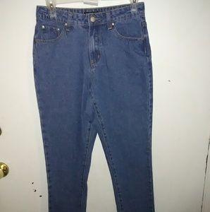 Boohoo jeans.